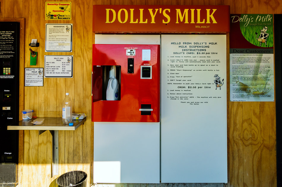 Dolly Milchautomat