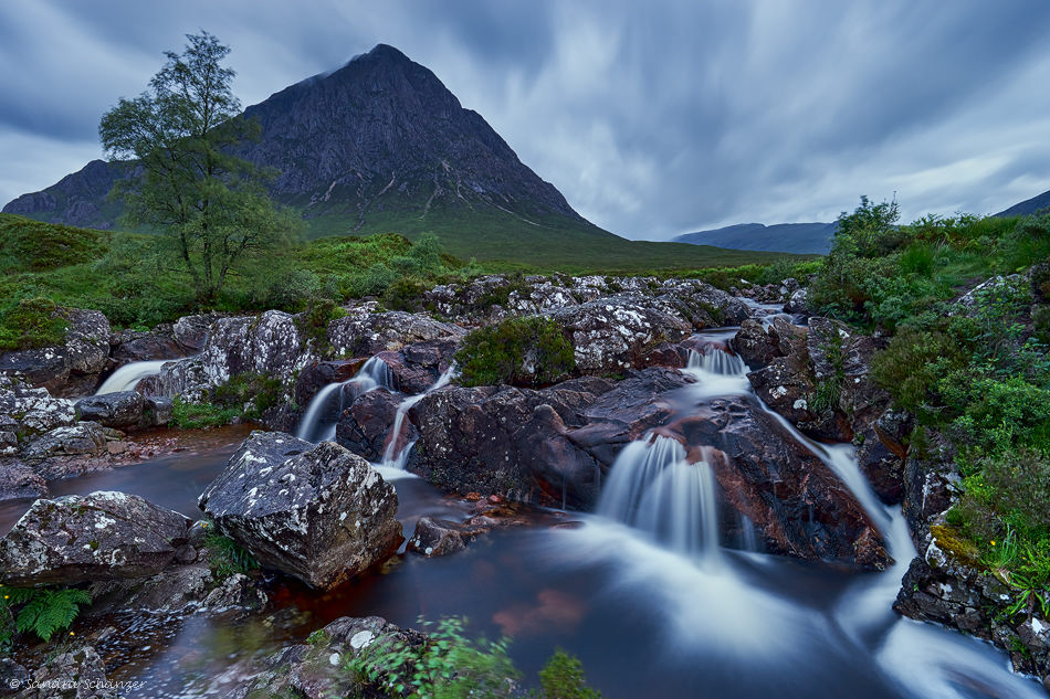 Glen Etive Fall