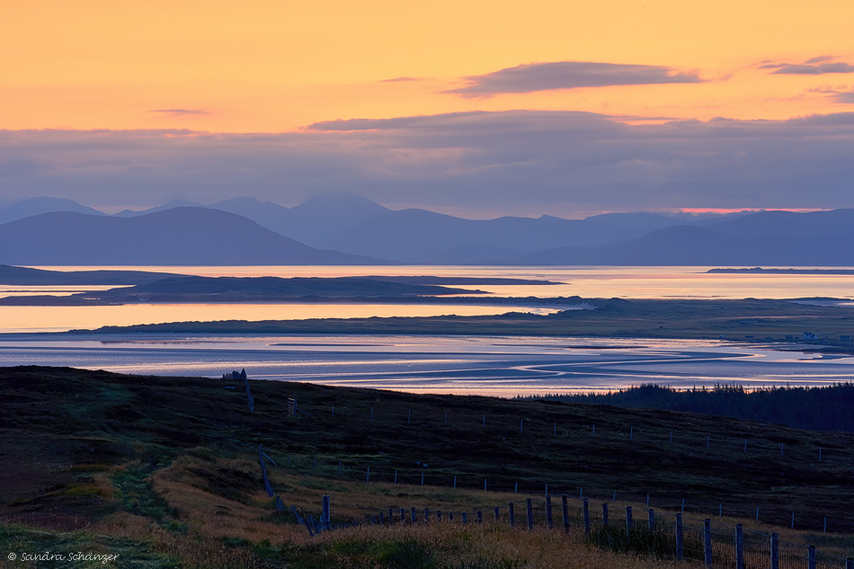 Sonnenaufgang North Uist