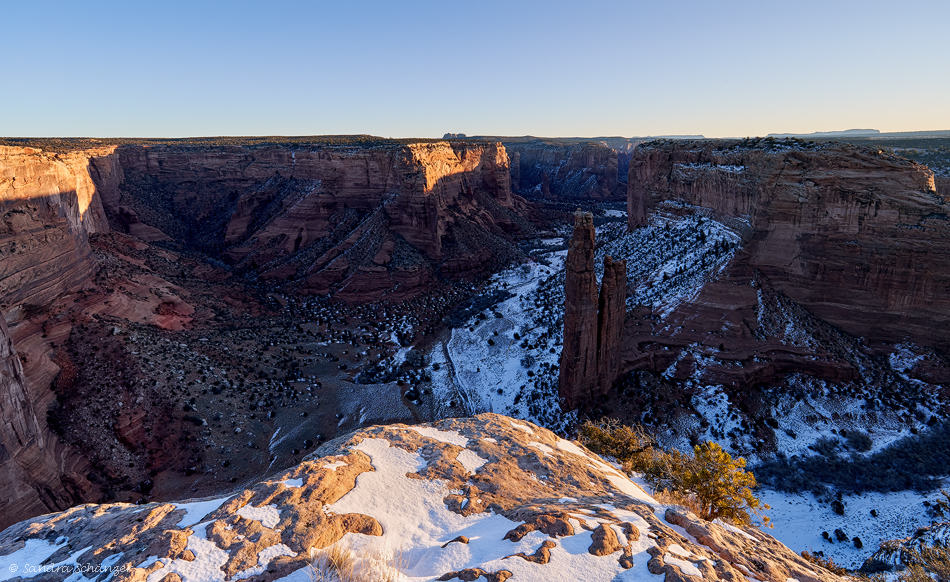 Canyon de Chelly – Spider Rock Overlook