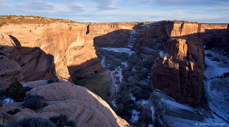 Canyon de Chelly – Antelope House Overlook