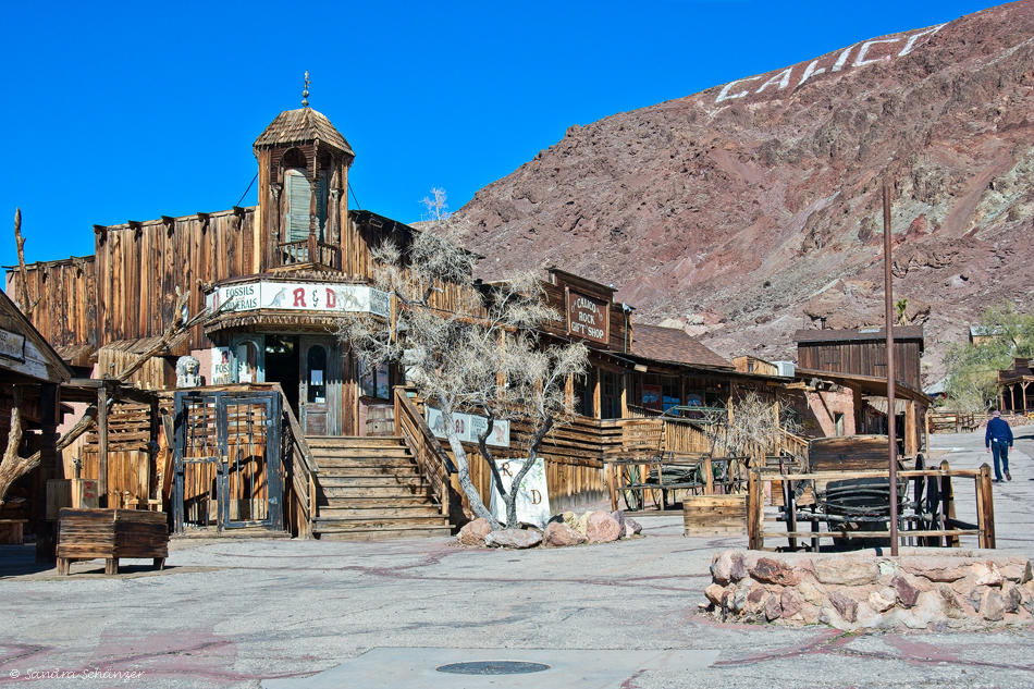 Saloon Calico Ghost Town